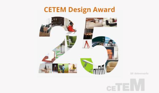 Dip estuvo presente en la entrega de premios XXV Cetem Design Award